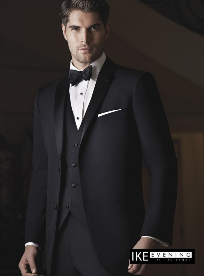 Black Two Button Notch Tux